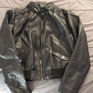 XL leather jacket
